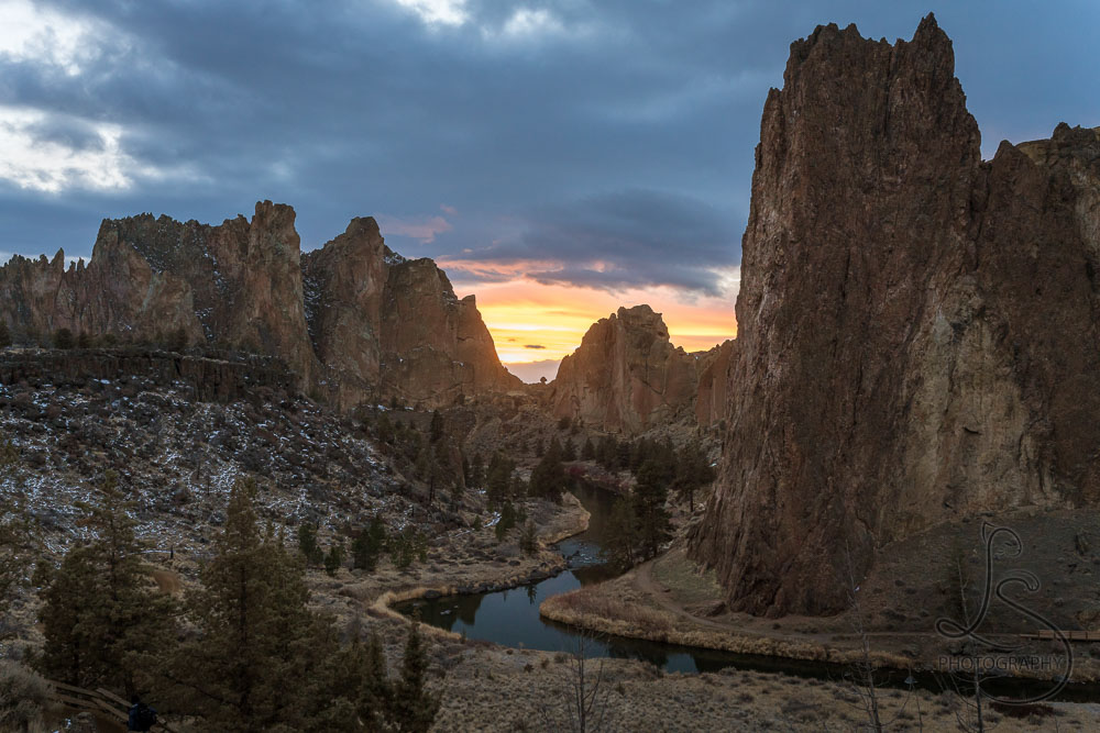 Biweekly Wow: Sunset at Smith Rock
